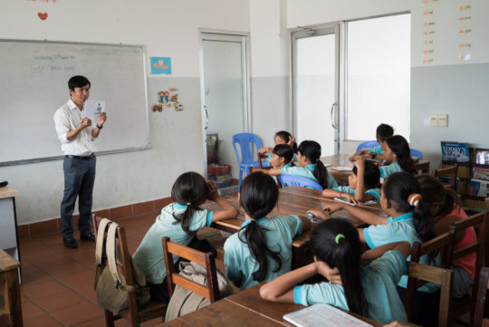 English lessons at ISF