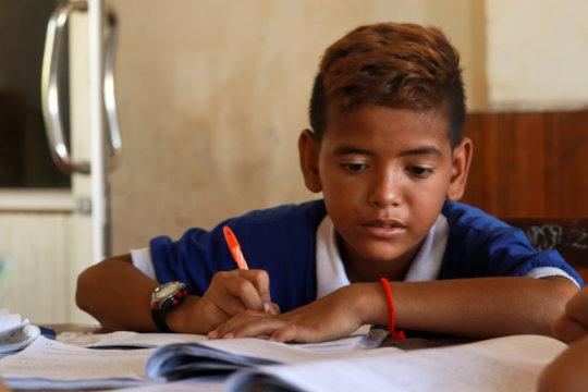 Saren, ISF student