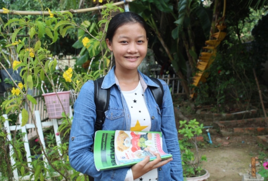 Ratha, ISF grade-9 graduate