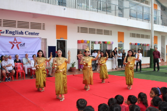 Opening Ceremony, ISF's English Language Centre