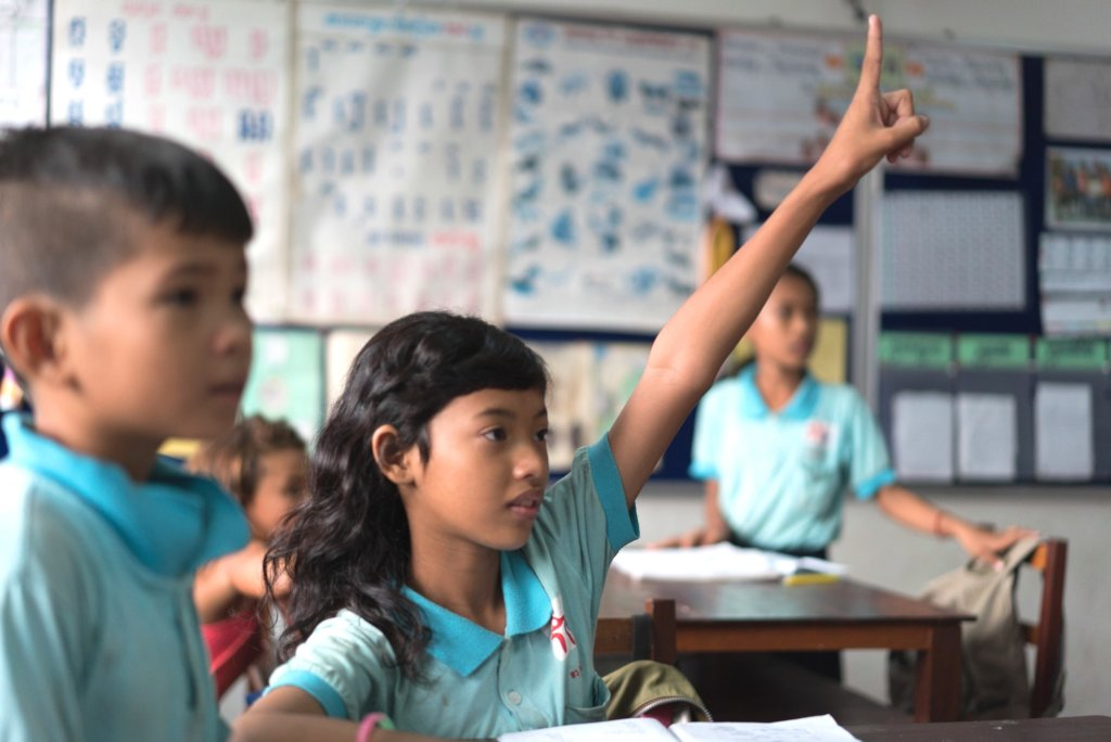 Give Disadvantaged Cambodian Children An Education