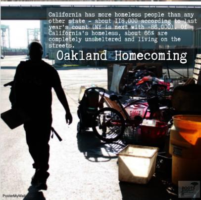 Oakland's Unsheltered