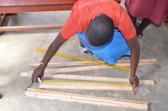 Measuring the supports