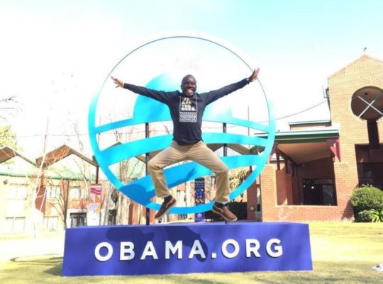Samson at Obama Africa Convening in South Africa