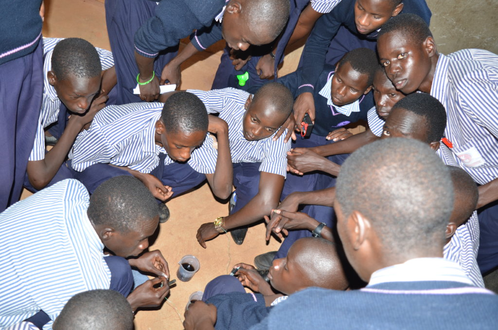 Empower 240 Ugandan youth to be student-engineers!