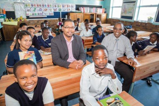 Support principals of 10 poor schools in Limpopo