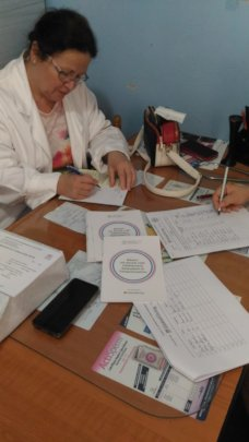 Writing of medical prescriptions for the women