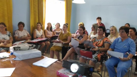 Moment from the workshop