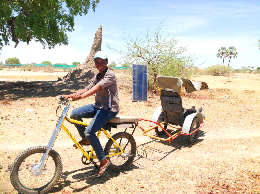 Deliver solar ambulances to save lives in Namibia