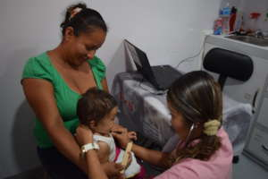 Medical consultation to infants