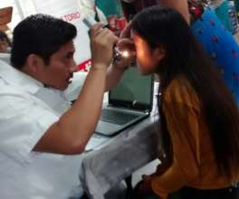 Ophthalmological care to minors