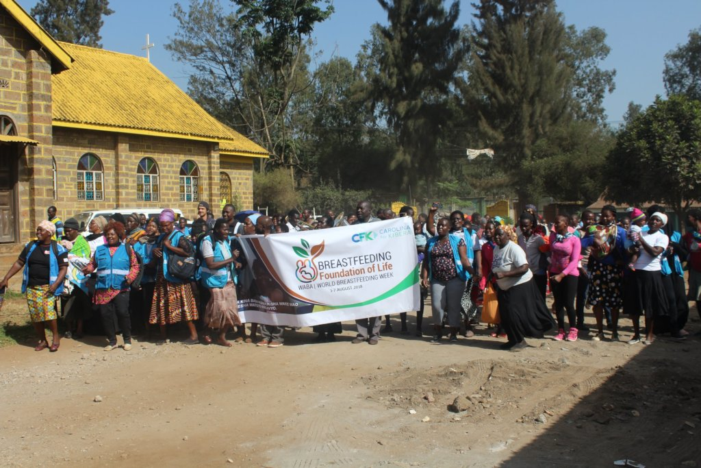 World Breastfeeding Week in Kibera