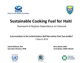 For GlobalGiving & UN Haitian Staff Club (PDF)
