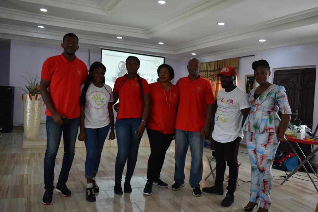 Dream Team!  My fantastic Helpers!