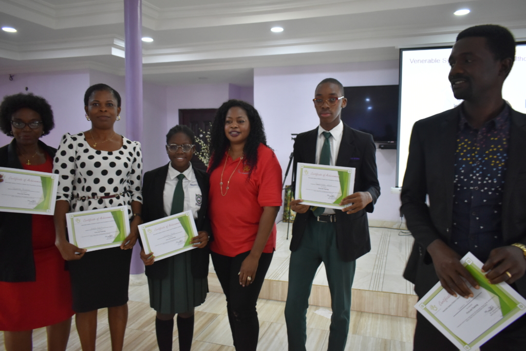 Secondary Schools got certified by VSCWC!