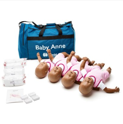 Baby manikins for CPR training!