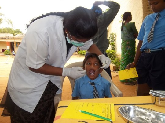 Provide Dental Care to 9000 students in India - GlobalGiving