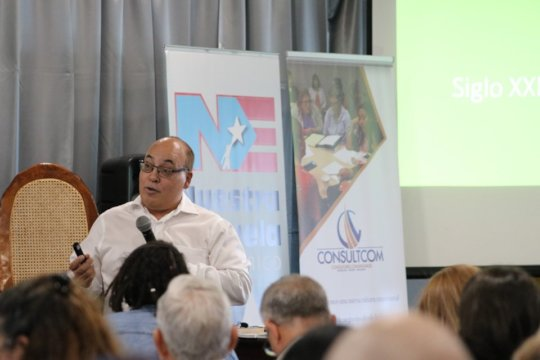 Speaker at Social Economy Meeting