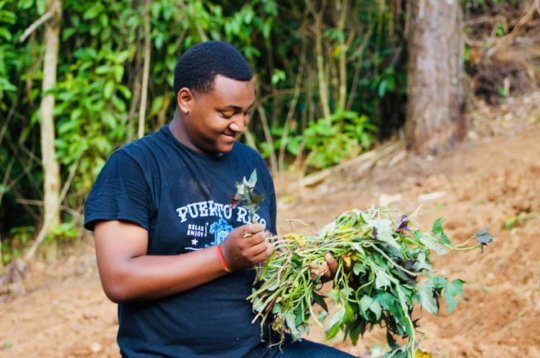 Students developing love for nature