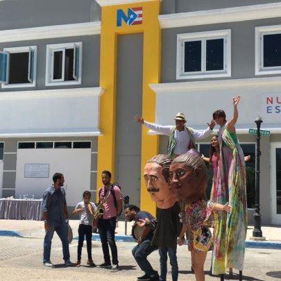 Nuestra Escuela's new building