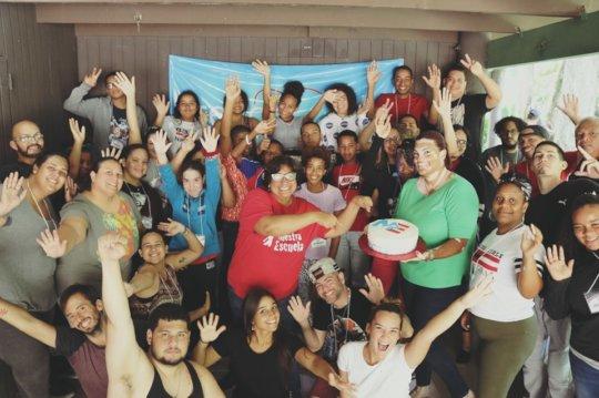 Community celebrating the 19th Anniversary