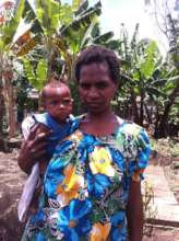 A Village Midwife and her baby