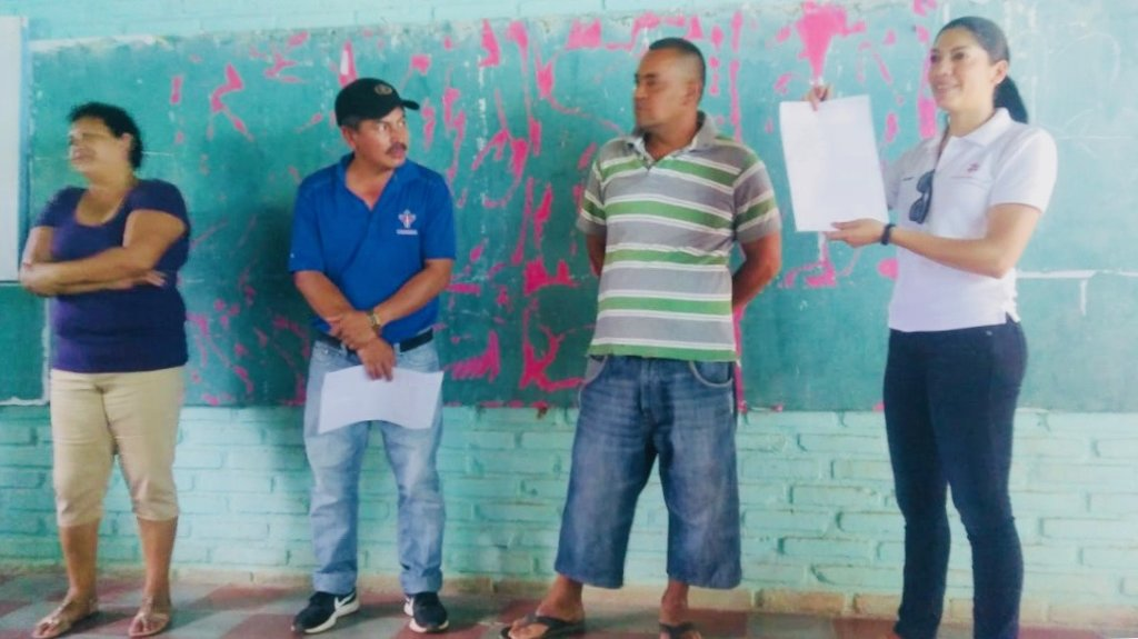 Gloria and Quebrada Grande Leaders on May 23rd.