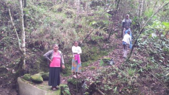Committe Members in Majada Verde, Honduras