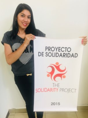 Gloria, Project Director for TSP