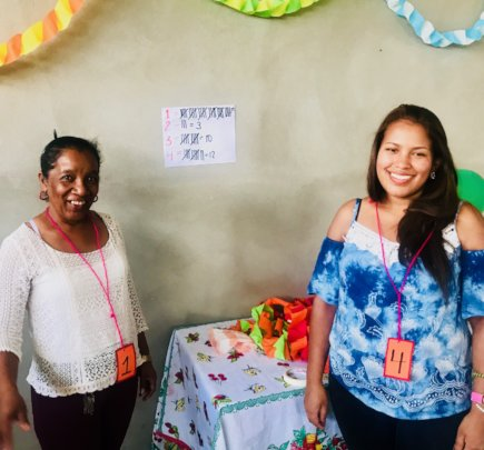 Mesa Comunitaria Project winners in Talanga!