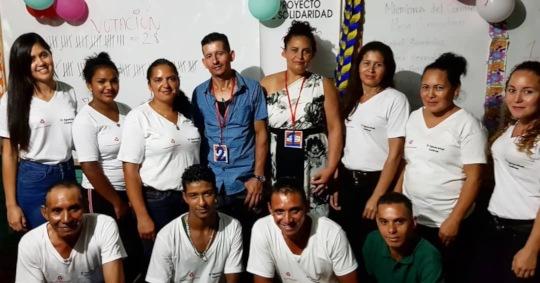 El Aguacatal community leaders
