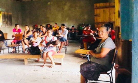 Mesa Comunitaria Launch in Majada Verde