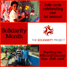 Visit our sites for info on Solidarity Month 2018