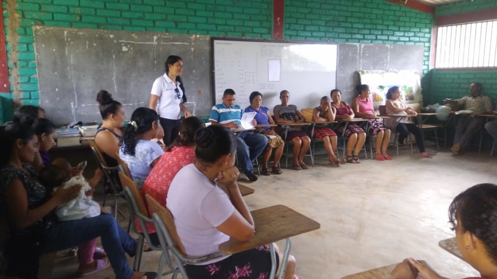 TSP Meeting with the Community of El Aguacatal