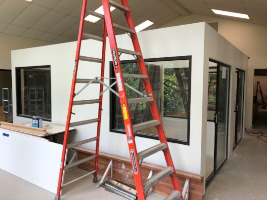 Cat Adoption Rooms nearly complete