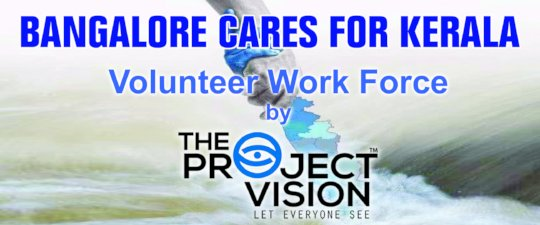 Kerala Flood Relief work by The Project Vision