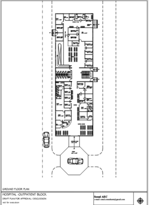 Approved plan of ground floor