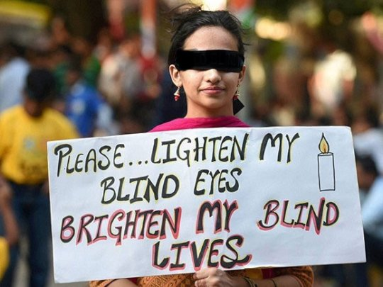 Give me the Sight.....(From the Global Blindwalk)