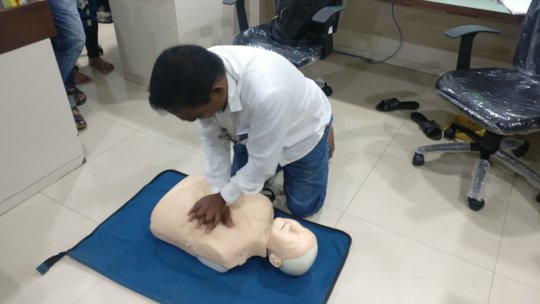 Effective CPR hands-on-training