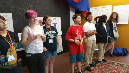 last year's Queer Academy campers