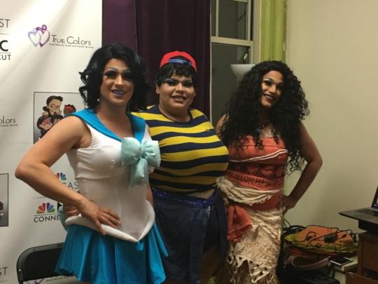 Celebrating drag - we have fun too!