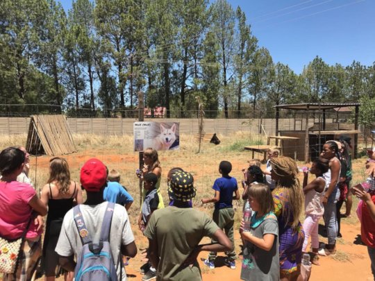 Teaching the kids about conservation