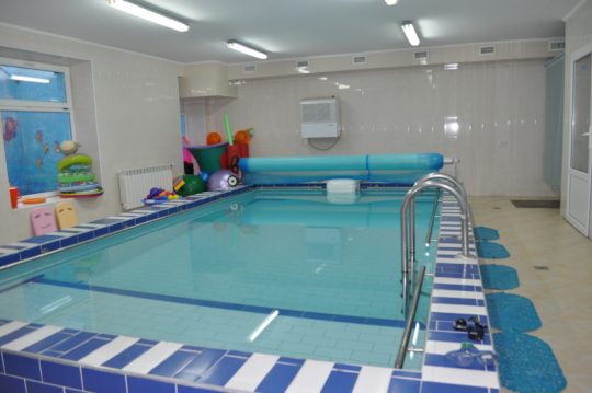 Dzherelo Centre children's Hydrotherapy Pool