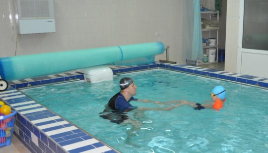Hydrotherapy session in Action
