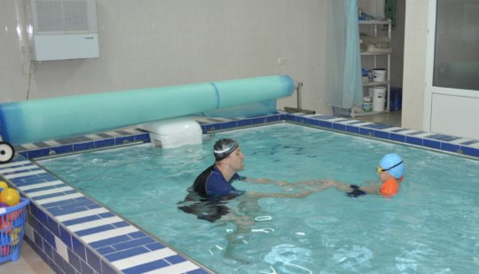Hydrotherapy in Action