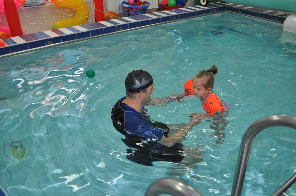 Hydrotherapy session at Dzherelo