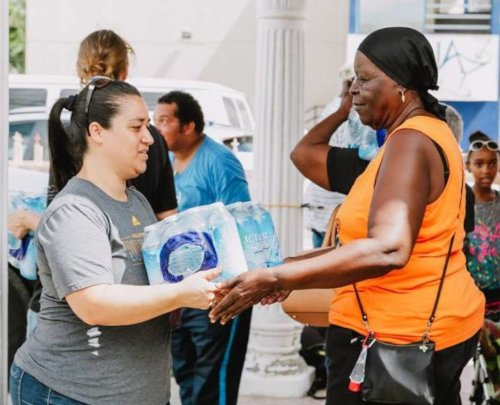 Providing water through valuable partnerships