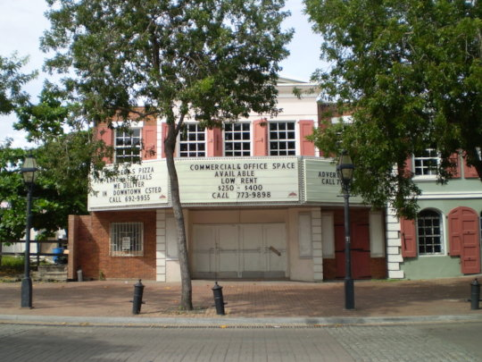 Theater will be Retrofit as Shelter & Arts Center!