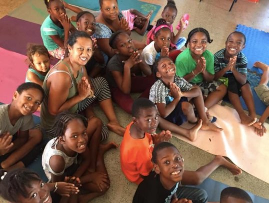 Meet the children our first solar center serves!