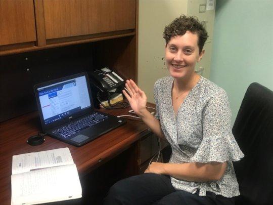 St. Croix welcomes VISTA Volunteer, Sinead!